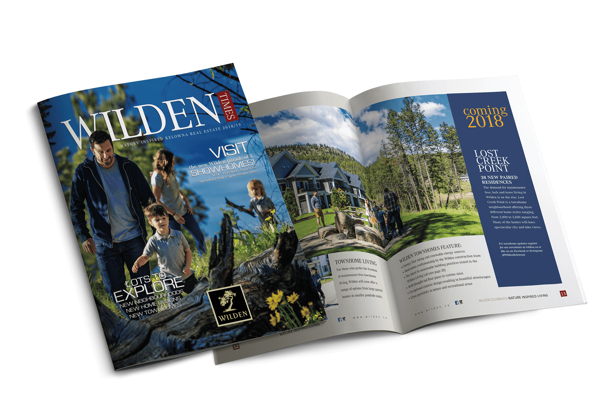 2018 Wilden Times mockup