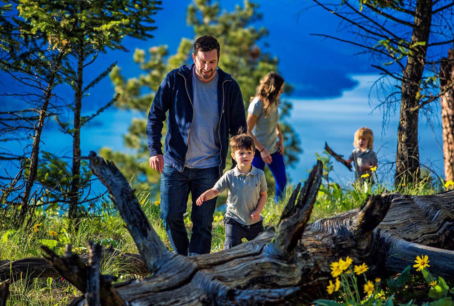 Wilden Family hike in Kelowna