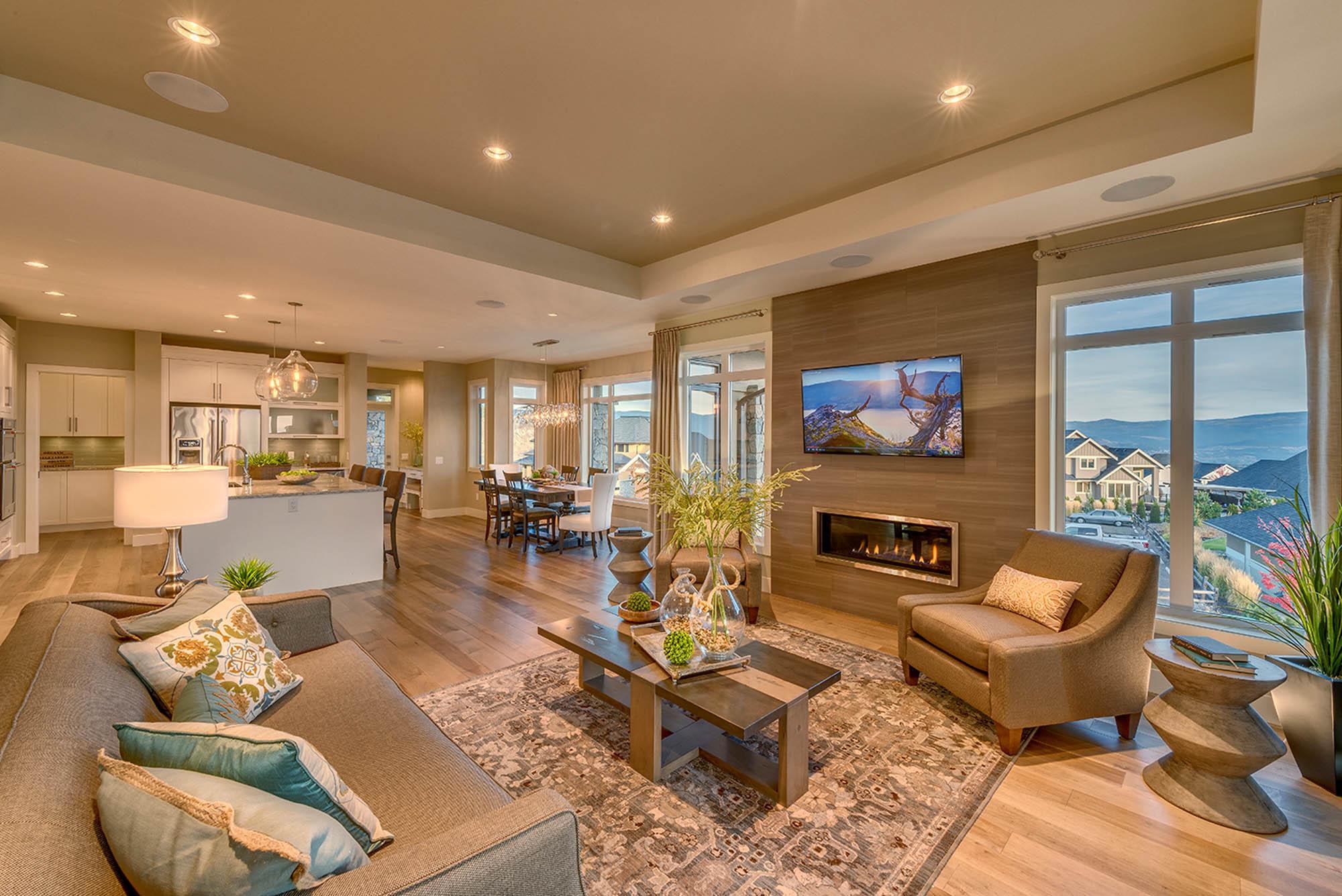 Chatham Homes Showhome Living Room