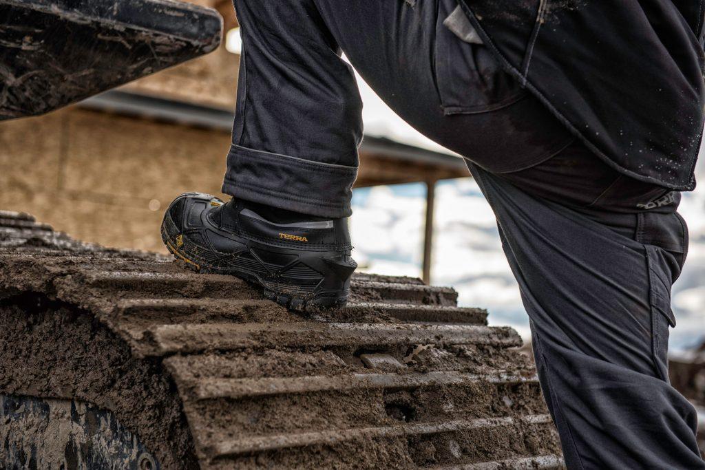 Terra Work Boots excavator