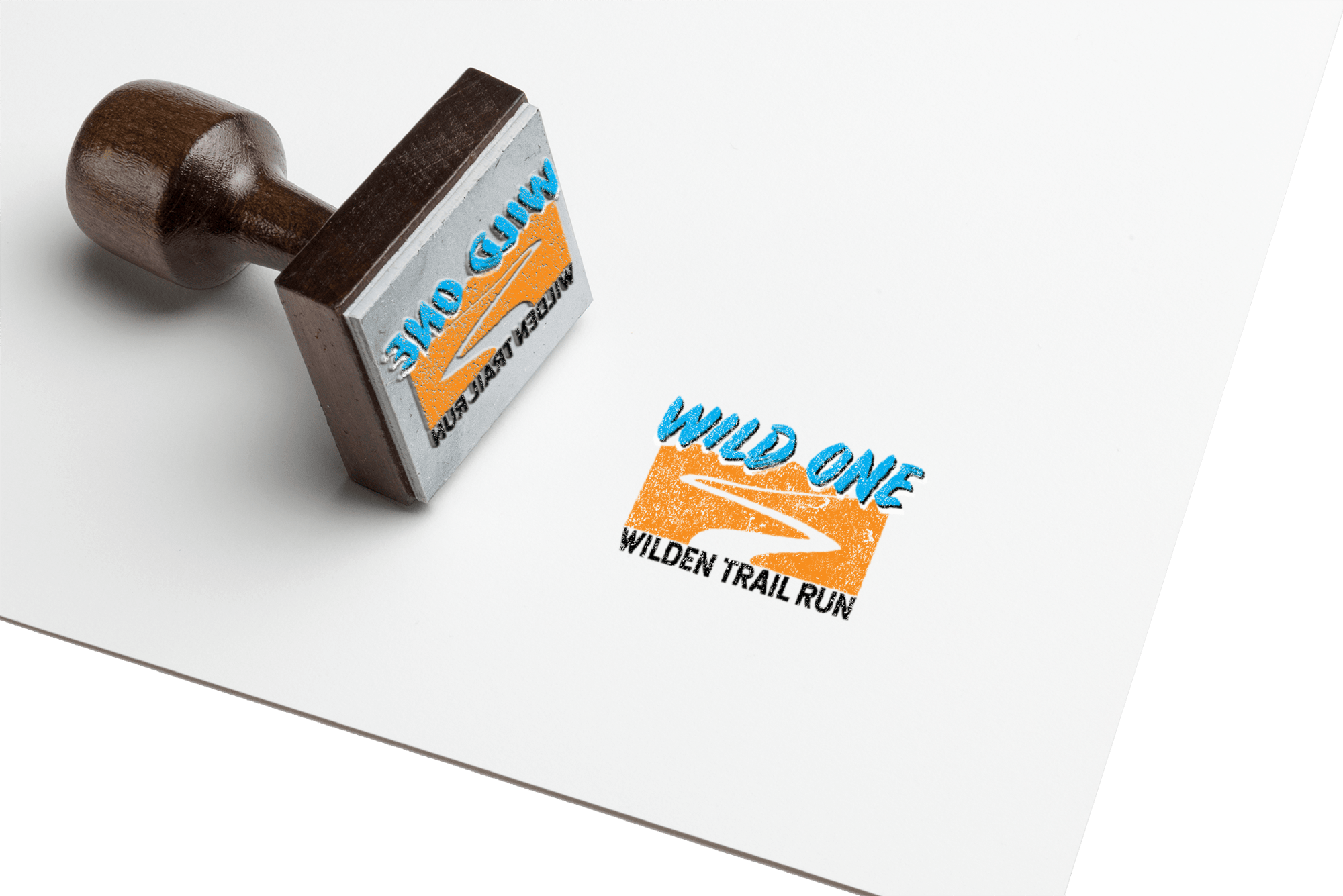 Wild One Run Logo Mock Up