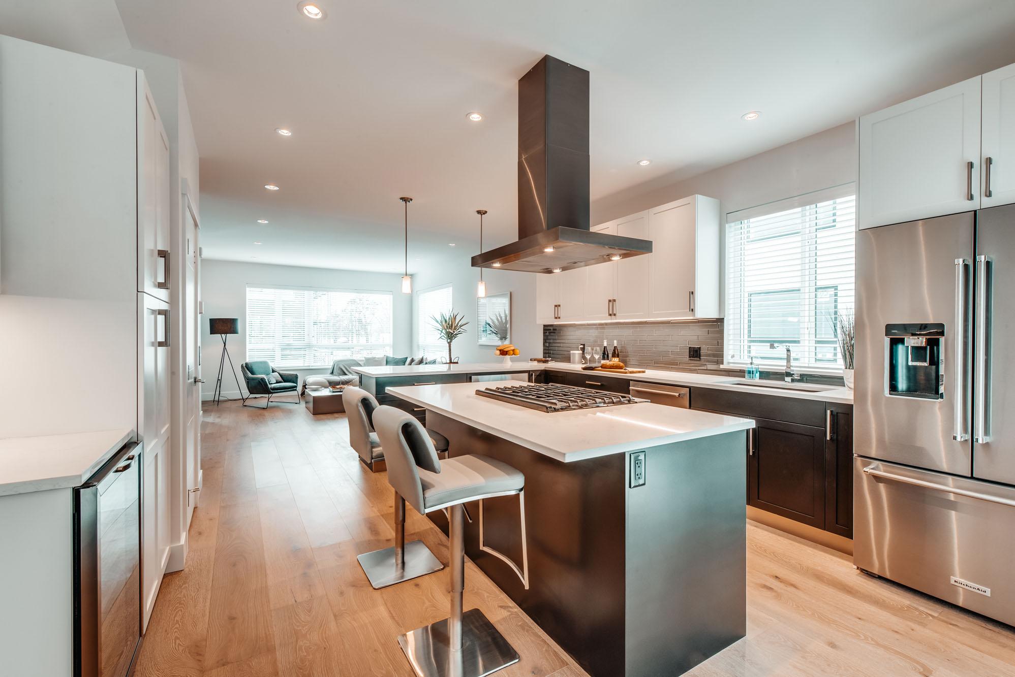 Gyro Beach Townhomes Kitchen Interior
