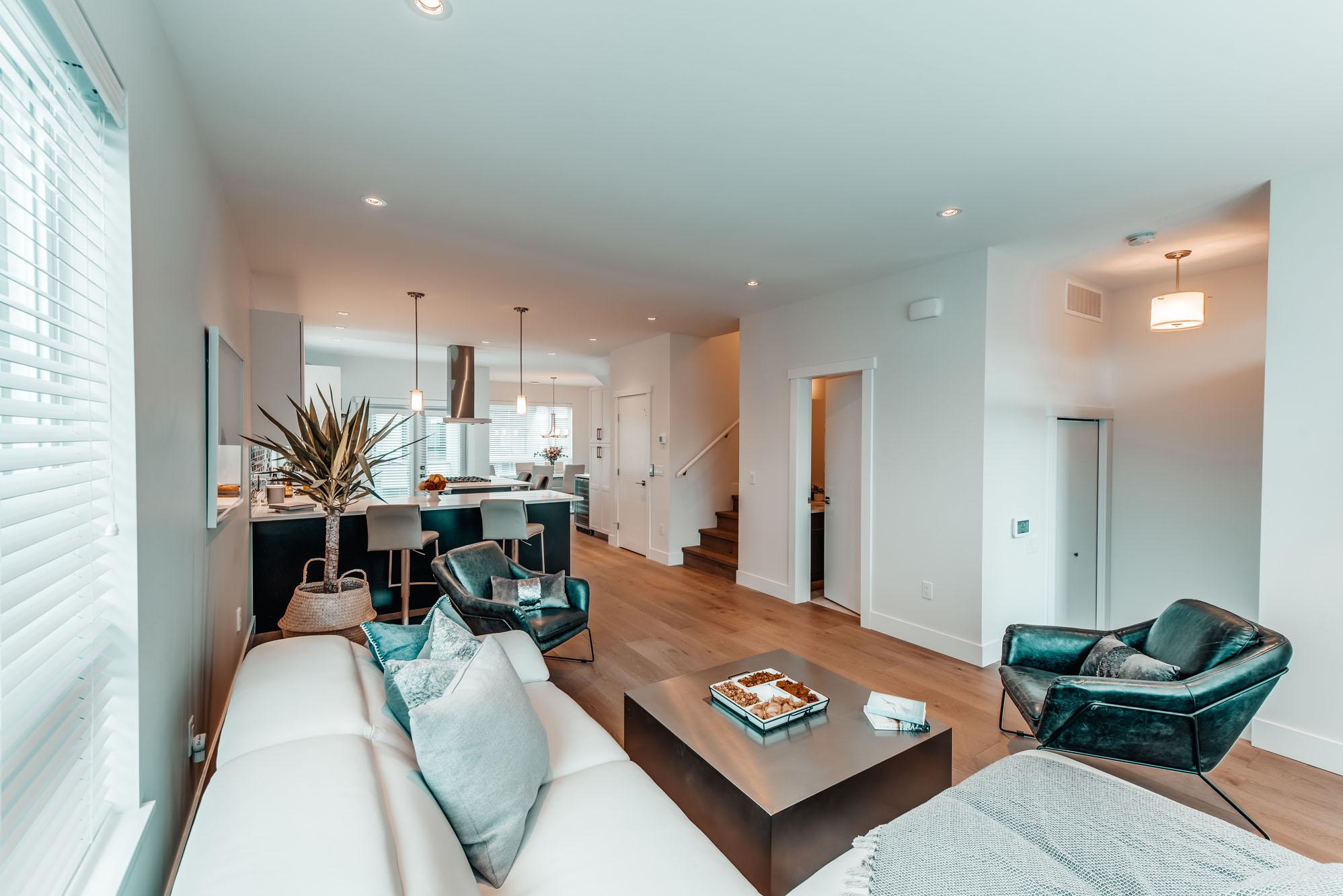Gyro Beach Townhomes Living Room Interior