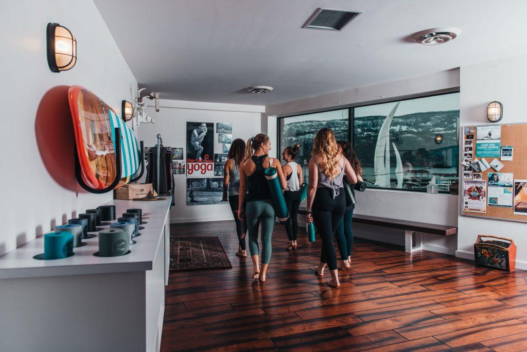 The Hot Box Yoga Kelowna foyer image