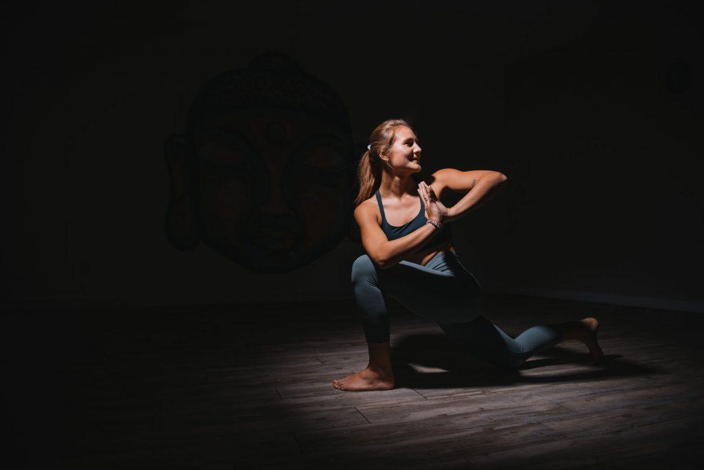 The Hot Box Yoga Kelowna yoga pose